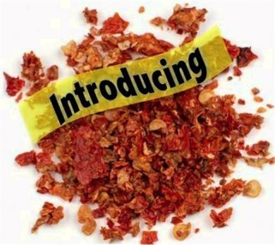50 Kilogram - 110 Pounds Dried Carolina Reaper Flakes