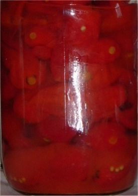 Pickled Ghost Pepper Pods 1 Kilogram