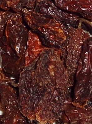Dried Red Savina Habanero Pods 1 Pound